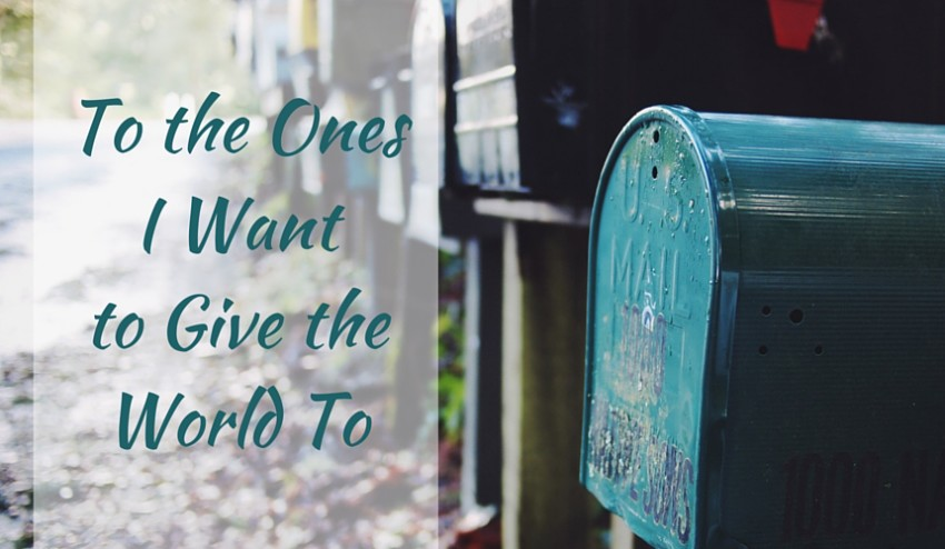 give the world